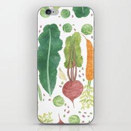 Garden Vegetables iPhone Skin