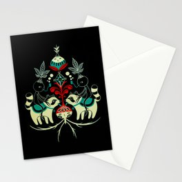 Mandragora and racoon. Stationery Cards