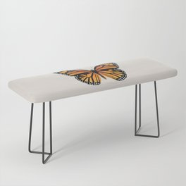 Monarch Butterfly Bench