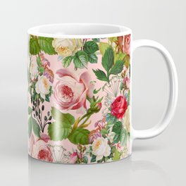 Vintage Botanicalia #illustration #pattern #botanical Coffee Mug