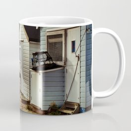 Beach Huts Hengistbury Head Dorset Coffee Mug