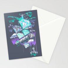 Water/Diamond Paradox Stationery Cards
