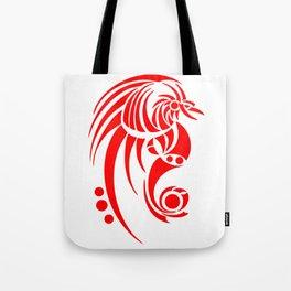 Dragosseria - red fantasy dragon Tote Bag