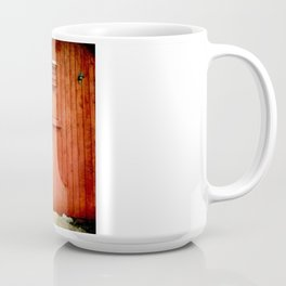 Christmas Barn Coffee Mug