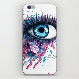 """Midnight Rose"" iPhone Skin"