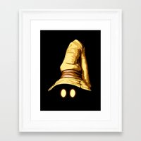 final fantasy Framed Art Prints featuring Vivi - Final Fantasy by Vortha