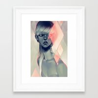 blush Framed Art Prints featuring Blush by loish