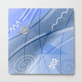 Music of the Spheres [Aquarius] Metal Print