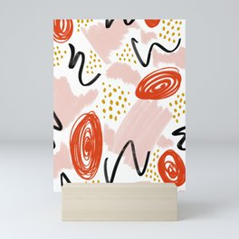 Playful Scribble Mini Art Print