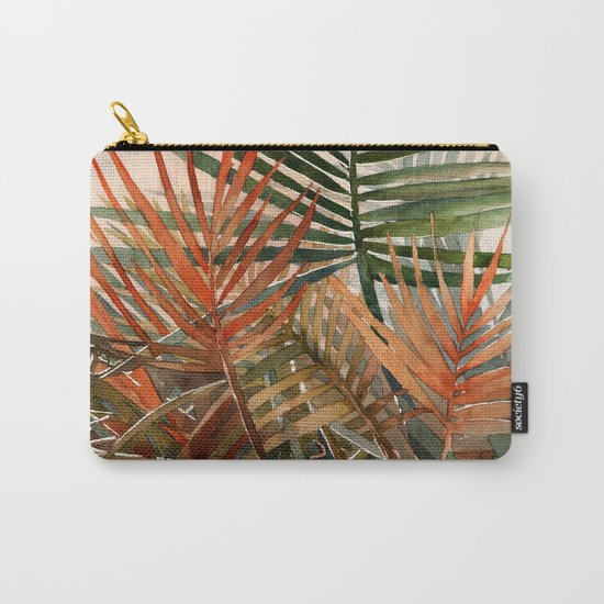 Arecaceae - household jungle #1 Carry-All Pouch