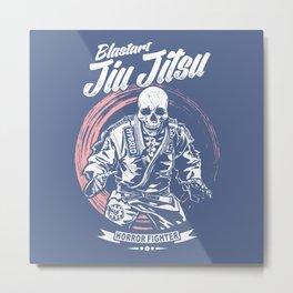 Jiu jitsu Horror Fighter Metal Print