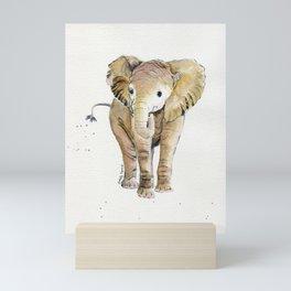 Baby Elephant 4 Mini Art Print