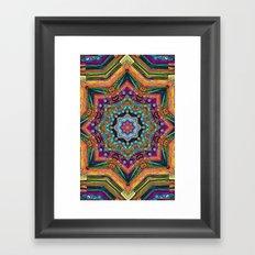 Indy Overdose Framed Art Print