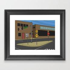 Reason Street Framed Art Print