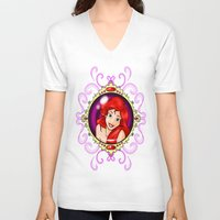 ariel V-neck T-shirts featuring ariel by Dan Solo Galleries