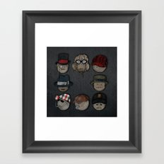 You like hats? I'm mad about hats! Framed Art Print