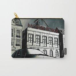 Citroen XM noir art in Paris Carry-All Pouch