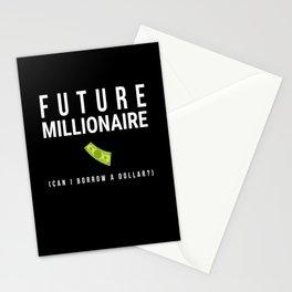Future Millionaire Money Stationery Cards