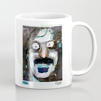 zappa Mugs featuring Cool Ages VII by pedrovicentesilva