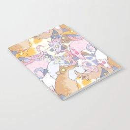Fancy Rat Pattern Notebook
