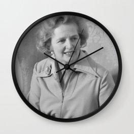 Margaret Thatcher Politician Wall Clock