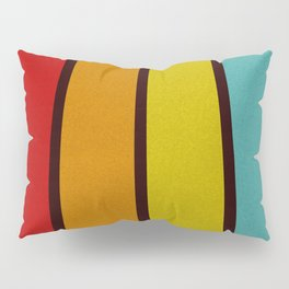 Retro Lines Pillow Sham