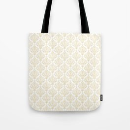 Elegant vintage pastel colors boutique floral damask stylish pattern Tote Bag