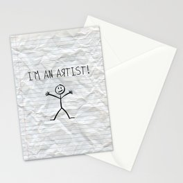 I'm An Artist! Stationery Cards