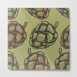 Bumps Metal Print