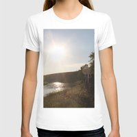 camping T-shirts featuring Camping by RMK Photography