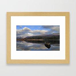 The Upper Lake Framed Art Print