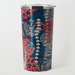 Corals and Starfish Travel Mug