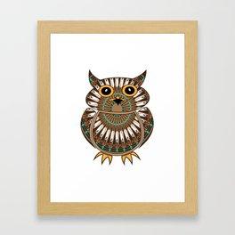 Owl the Messenger Framed Art Print