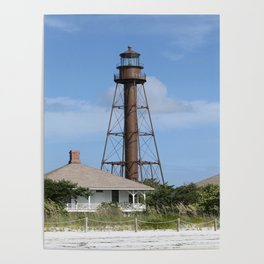 Sanibel Island Light Poster
