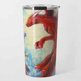Little dragon Travel Mug