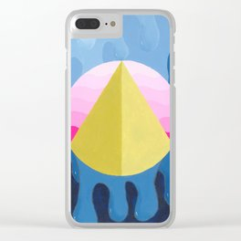 Pyramid Clear iPhone Case