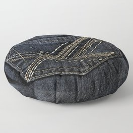 Denim: Pockets II Floor Pillow