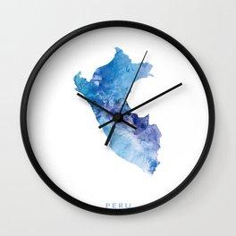 Peru Wall Clock
