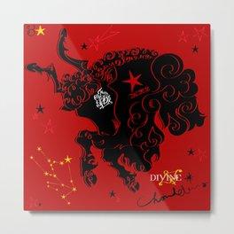 Taurus:Zeus:Toro Metal Print