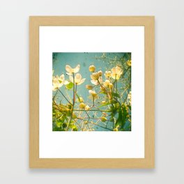 Look Up and You Will See Framed Art Print