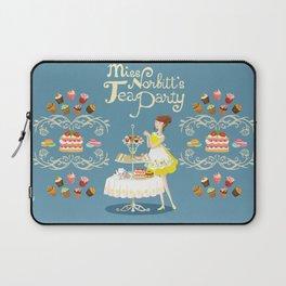 Miss Norbitt's Tea Party Laptop Sleeve