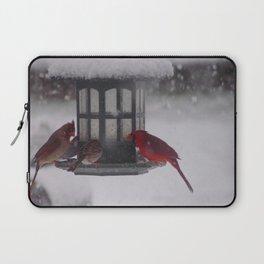 Bird Feeder Laptop Sleeve