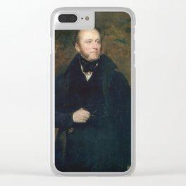 An English gentleman GORDON, SIR JOHN WATSON Clear iPhone Case