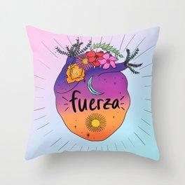 Fuerza Throw Pillow