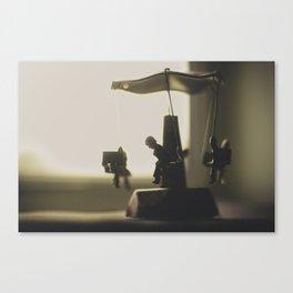 Miniature Carousal  Canvas Print