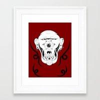 cyclops Framed Art Prints featuring Cyclops by Jorge Daszkal