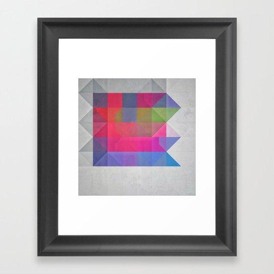 enchyntyd jwwl Framed Art Print