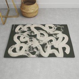 Abstract Coil A Modern Print Rug