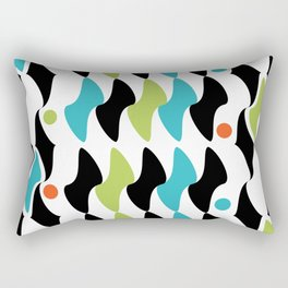 Vintage BW 01 Rectangular Pillow