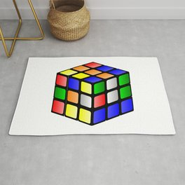 A Rubik's Cube Rug